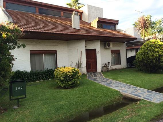 Excelente Casa En Country Las Lajas, Piscina Bajas Expensas