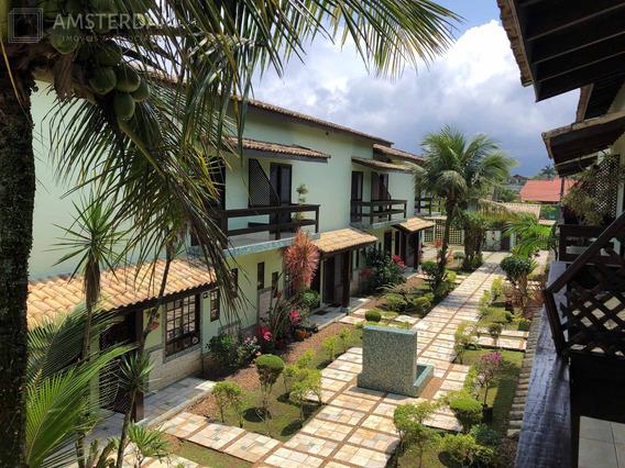 Casa Em Frente Ao Mar Com Piscina Em Condomínio Fechado - Cc00123 - 34518487