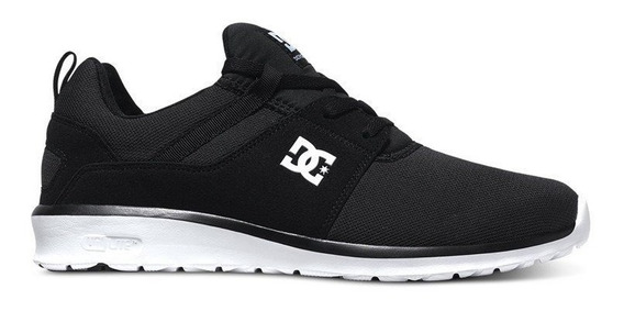 Tênis Dc Shoes Heathrow Black White