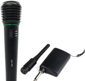 Microfone Sem Fio Profissional Completo + Cabo Trans