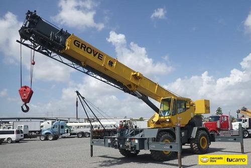 Grua Grove Rt530 De 30 Ton