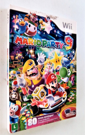 Jogo Wii - Mario Party 9 - Importado - Usado