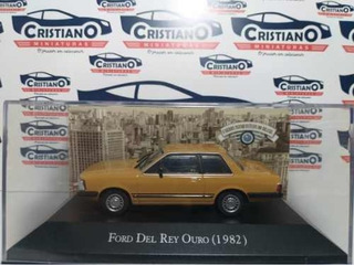 Ford Del Rey Ouro 1982 Ed 10 Carros Inesquecíveis Brasi 1/43