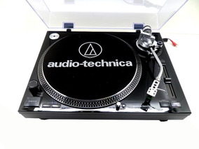 Toca Discos Audio Technica Lp120bk Usb Direct Drive Mk2