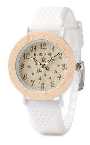 Relógio De Madeira Bobo Bird Feminino Star Céu Estrelado
