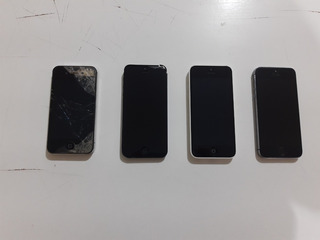 Combo: 4 Iphones (4s, 5, 5c E 5s) Usados