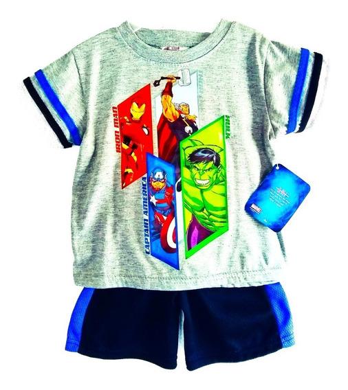 Conjunto De Shorts Y Playera De Niño