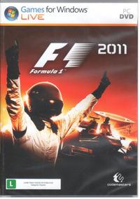 Formula 1 F1 2011 Pc Original Mídia Física Lacrado