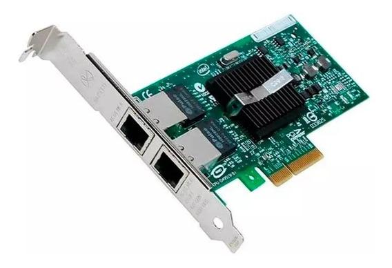 Placa Rede Intel Pro/1000 Pt Dual Port 1gb Rj45 Expi9402pt