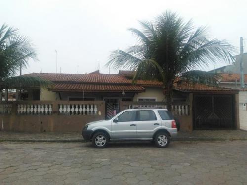 Imagem 1 de 14 de Casa Com 03 Dormitórios Em Itanhaém - 5449   Sanm