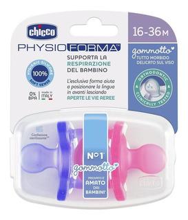 Chicco Chupón Physioforma Soft Pack 2 Piezas 16 A 36 Meses,