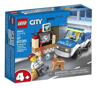 Lego City Policia Unidad Canina 60241 67 Piezas Orig Scarlet