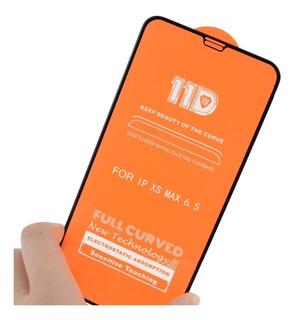 Vidrio Templado 11d Completo iPhone Xs/xs Max/xr/7/8/7p/8p/6