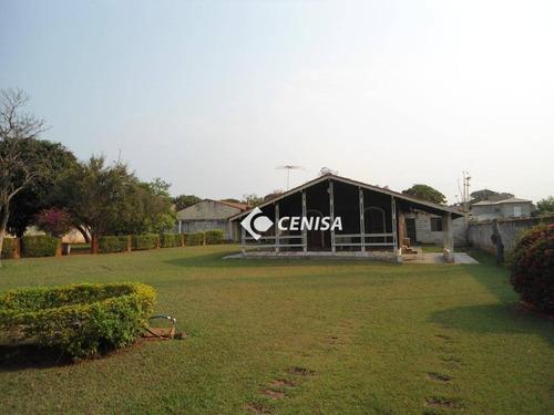 Chácara Com 3 Dormitórios À Venda, 2000 M² - Parque Presidente - Indaiatuba/sp - Ch0138