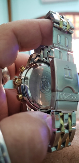 Tissot Prs200 Chronograph Aço E Ouro , Muito Lindo!