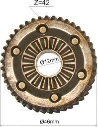 Engrenagem Original Furadeira Gsb 16 Re Bosch 2606320092