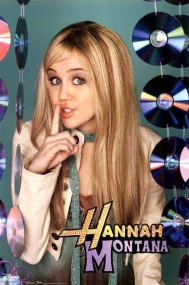 Poster Importado Hannah Montana / Miley Cyrus (motivo 4)
