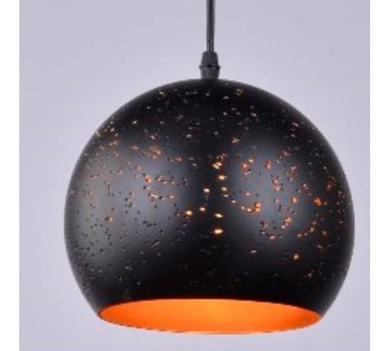 Lustre Pendente Td-3012 De Aço Alumínio 1 Lampada Taschibra