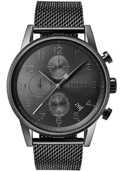Relógio Masculino Hugo Boss Navigator 1513674 Completo