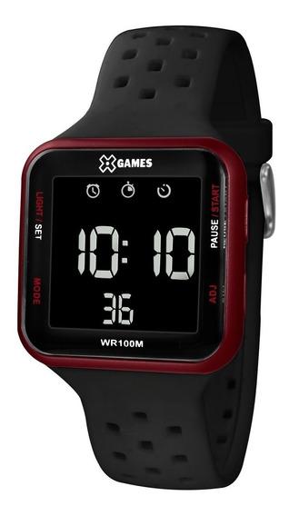 Relógio X-games Masculino Digital Quadrado - Xgppd101 Pxpx