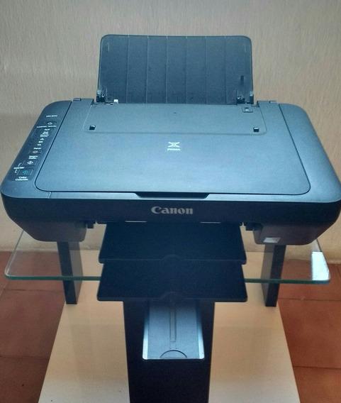 Impressora Canon + Cartuchos Descarregados