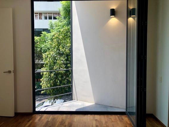 Renta Depto Con Terraza En Condesa