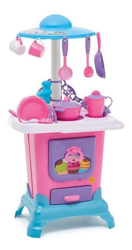 Cozinha Do Castelo Infantil Com Pia E Água Fogão A Lenha