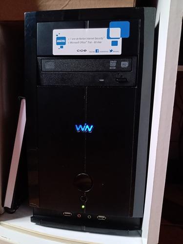Cpu Cce C23, Intel Dual Core, Ram 2gb, Gravador Dvd