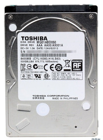 Hd P/ Notebook 500gb Sata 5400rpm 2.5m Toshiba Usado