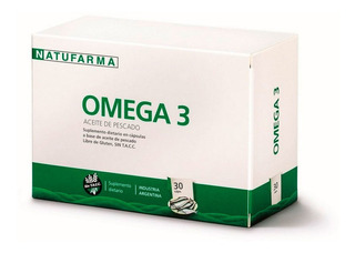 Natufarma Omega 3 Aceite De Pescado 30 Cápsulas