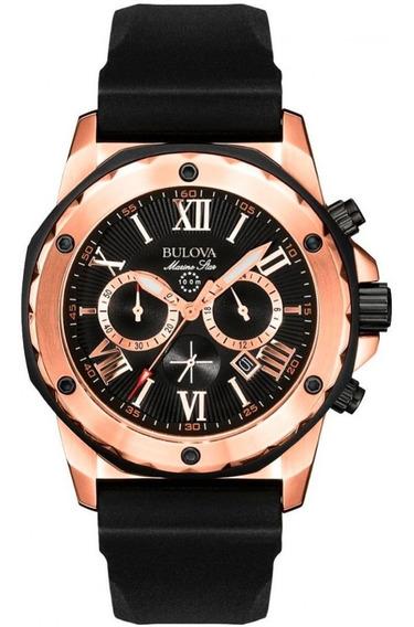 Relógio Bulova Masculino Marine Star Cronógrafo 98b104