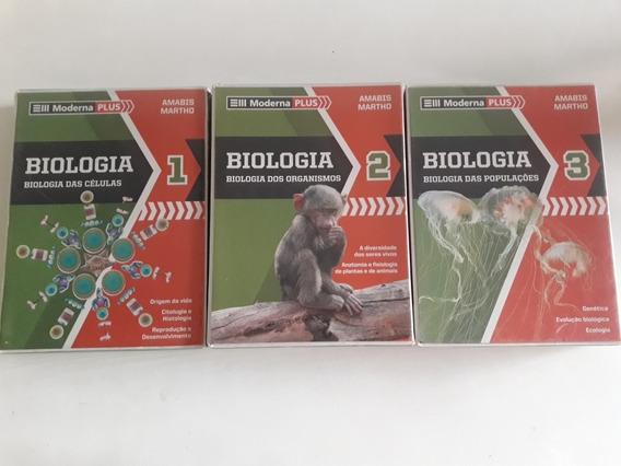 Biologia Amabis 3a Edição Volumes 1 2 3