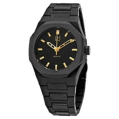 D1 Milano Policarbonado Negro Dial Reloj Para Hombre A-es02