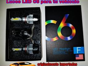 Luces C6 Led Hid Para Carro Luz H4 H6 H10 H11