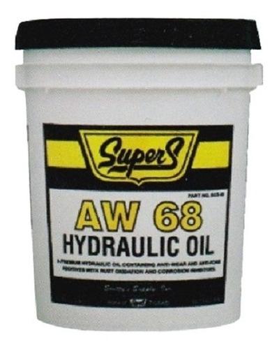 Aceite Hidráulico (fluido Hidráulico) Aw68 Cubeta 19 Litros