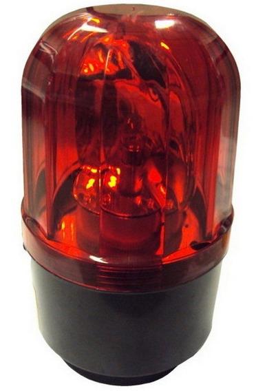 Giroflex Luz De Emergência Sinalizador 24v Vermelho
