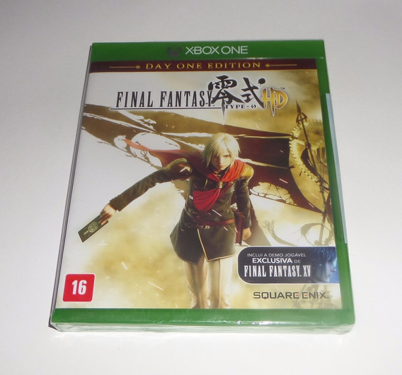 Final Fantasy Type-0 Hd Original Lacrado Física Xbox One