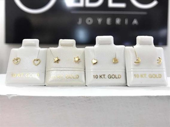 Mini Broqueles Piercing Oro10k