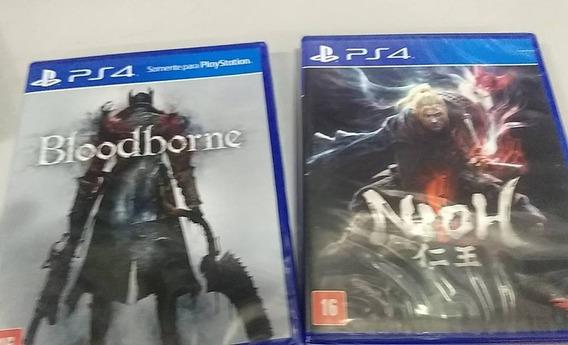 Nioh + Bloodborne Ps4