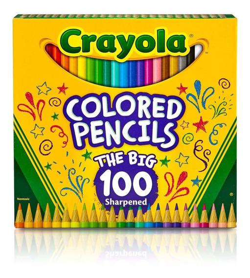 Lápices Dibujo Crayola Largos Tienda Oficial X 100 Colores
