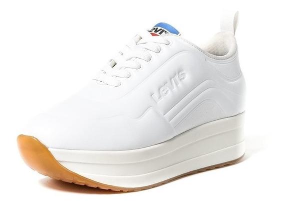 Tenis Levi´s Dama 119332 Original Blanco