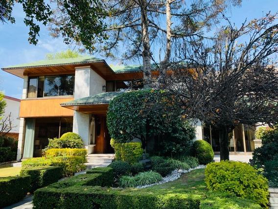 Casa En Venta Bosque De Las Lomas Con Espectacular Ja
