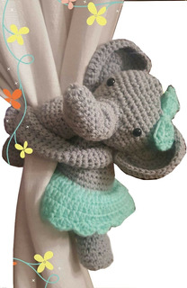Sujetacortinas Al Crochet Amigurumis Manos Creativas Sf