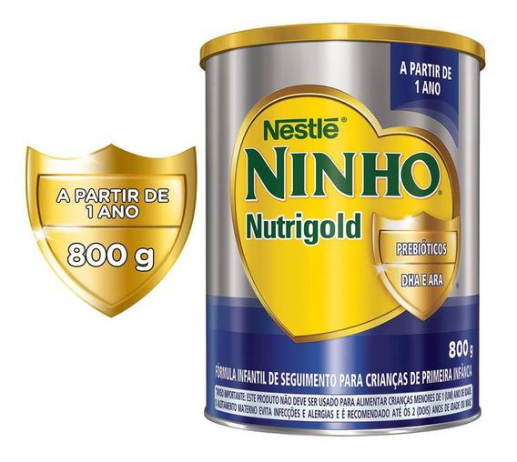 Ninho Nutrigold Fórmula Infantil Lata 800g