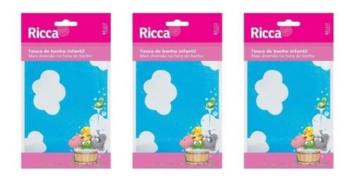 Ricca 390 Touca De Banho Infantil (kit C/03)
