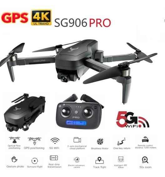 Drone Sg906 Pro, Guimbal 2 Eixo Com Maleta Vs L109 Pro, F11