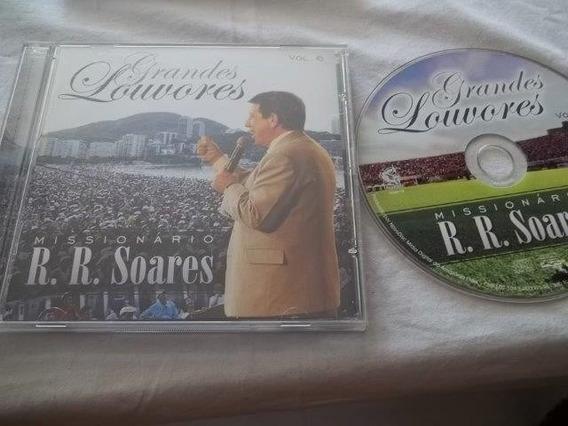 * Cd - Grandes Louvores - R.r. Soares - Gospel