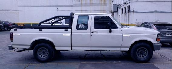 Ford F-100 2.5 Xlt Super Cab - Cabina Y Media 97
