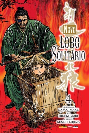 Mangá Novo Lobo Solitário - Volume 4 Lacrado Panini
