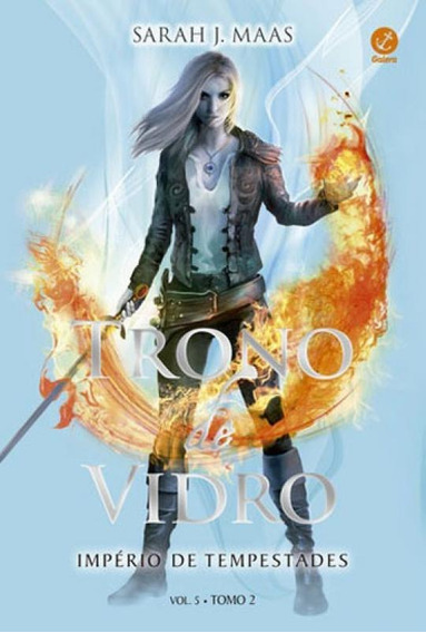 Trono De Vidro: Império De Tempestades (vol. 5 Tomo 2) - Vo